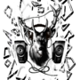 Deer DJ by ExCharny
