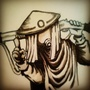 Inktober Fan Art- Desert Punk Anime by jaudio05