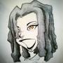 Inktober Fan Art- Zombie Trap Comics Xula by jaudio05