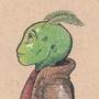 Alien kid by LauraBR