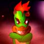 Super Mario Bros vs Black Goku Scene11 Bowzer's arrival by Animetion97