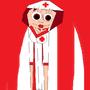 inktober nurse by jillroller400