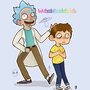 poor Morty always in distress by Heumilch
