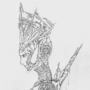 Goddess Nótt by The-Damned-King