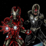 MW Iron-Man & Nova Prime by MWArt