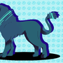 Palette Challenge 1: Blue Color -Lion- by SmallCat
