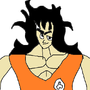 Weak ass mspaint yamcha by Scrungo