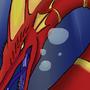 Seahorse Dragon by PsychoticRat