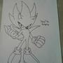 Nazo The Hedgehog *Retaken* Original Drawing by OneKidOfKnowledge