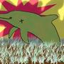 Zombie Dolphin by Icecreammortal