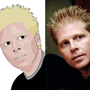 Dexter Holland Cartoonized by TripleDK