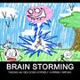 Brain Storming by Nintendoart