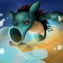 Horsea + Sandslash = Horslash! by Monkeytec