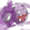 The Odd Couple : Weezing and Ghastly pokemashupchallenge