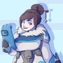 Overwatch Mei - Request by fluffy-fez