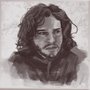 Jon Snow by idohassid