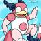 Mr.Poke Slowpoke and Mr.Mime Fusion