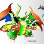 Charisyth (Charizard + Scyther) by AdiMATRIX