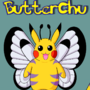 ButterChu Character Design Sheet (Pikachu+Butterfree) by FactoidFirefly