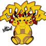 Pikeggutor. Pikachu + Exeggutor by BigMike1996