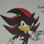 Shadow The Hedgehog *Colored Version* by OneKidOfKnowledge