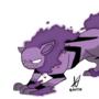 haunter + arcanine = hauntanine b-pokemonchallenge by SharStudio