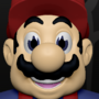 Cartoon Mario by invaderdesign