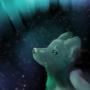 Space Fox by Littlepinkmonkey