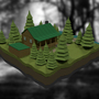 Hunting Cabin by jsabbott