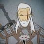 Geralt of Rivia by KungFuSpaceBarbarian