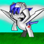 Arwing Pony by sergeant16bit