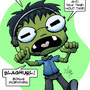 Call Center Zombie by JokerInc77
