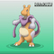 Mewtwo Dragonite fusion into Dragotu