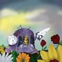 Muk + Beedrill = MUDRILL by TinyMeow