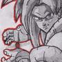 Super Saiyan 4 Gogeta by JackJohns