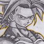 Super Saiyan Future Trunks by JackJohns