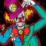 Crazy Clown by natanmvieira