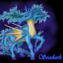 Seadash Pokémon Mashup (Rapidash+Seadra) by Palainah