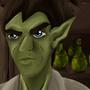 Elf Bartender by Quetzal890