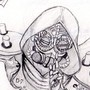 Steampunk Genji Sketch by Creotic-07