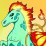 Ponysaur (Ponyta & Bulbasaur by Sekyria