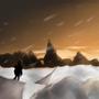 Snowfield. by MYLichtbringer