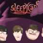 sleepycabin cast painting