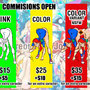 commisions open