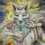 Kadabra x Ninetales | PokeMashupChallenge by ArtByDare