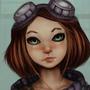 Girl In Glasses by iQ-Hunter