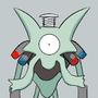 PokéMashup - Magnezam by zenrymat