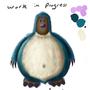 Snorlax + Diglett = Snorlett (Work in progress) by thiagobm