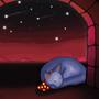 Sleepycat Dreams of Mars by Bertn1991