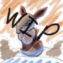 Wip pokemashup Eevee and Cubone by we4sel3